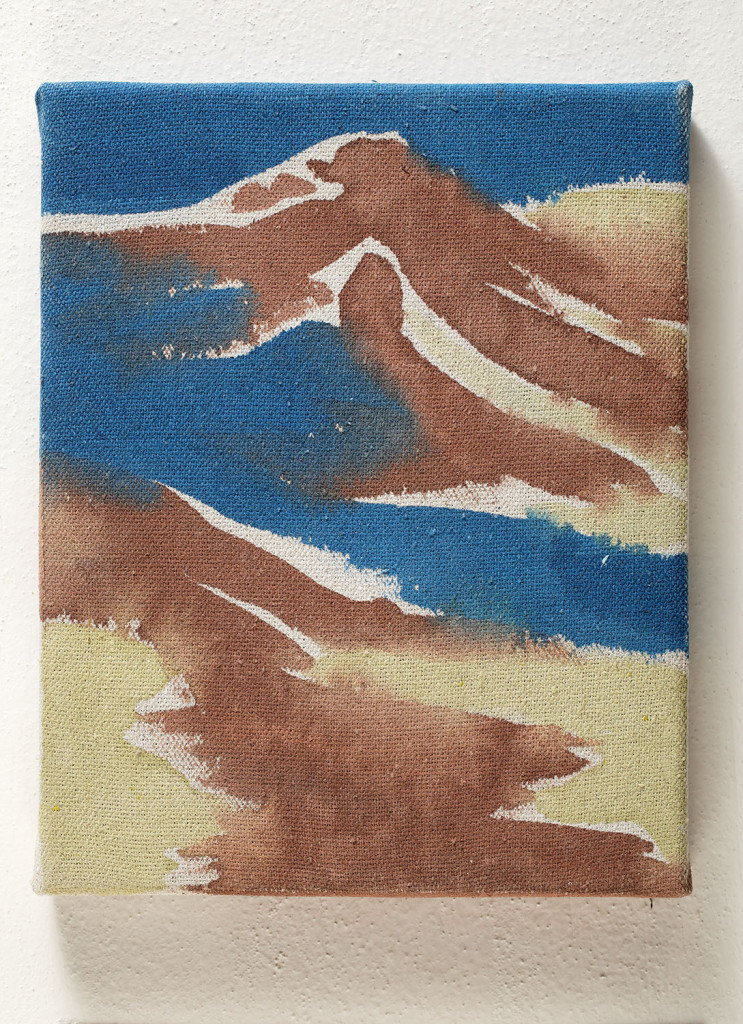 Landscape no. 41 / 25 x 20 cm / mixed media, canvas/ 2013