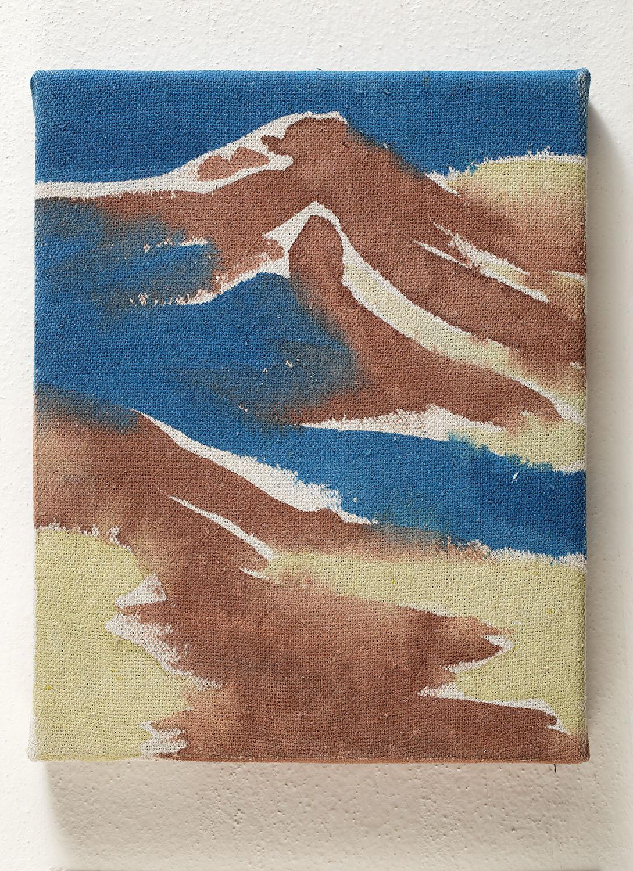 Landscape no. 41 / 25 x 20 cm / mixed media, canvas/ 2013