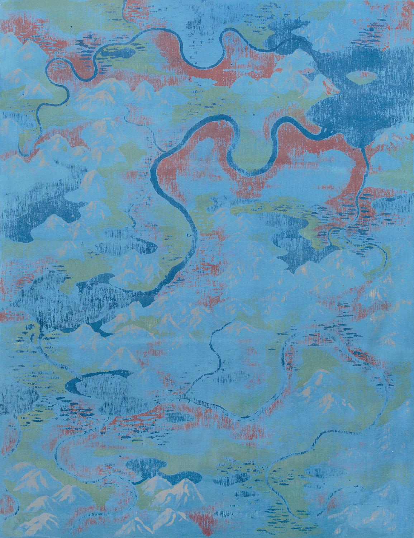 Landscape no. 49 / 260 x 200 cm / mixed media, canvas / 2013