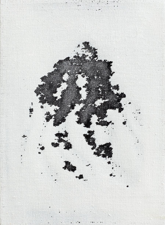 Landscape no. 9 / 30 x 25 cm / mixed media, canvas / 2011