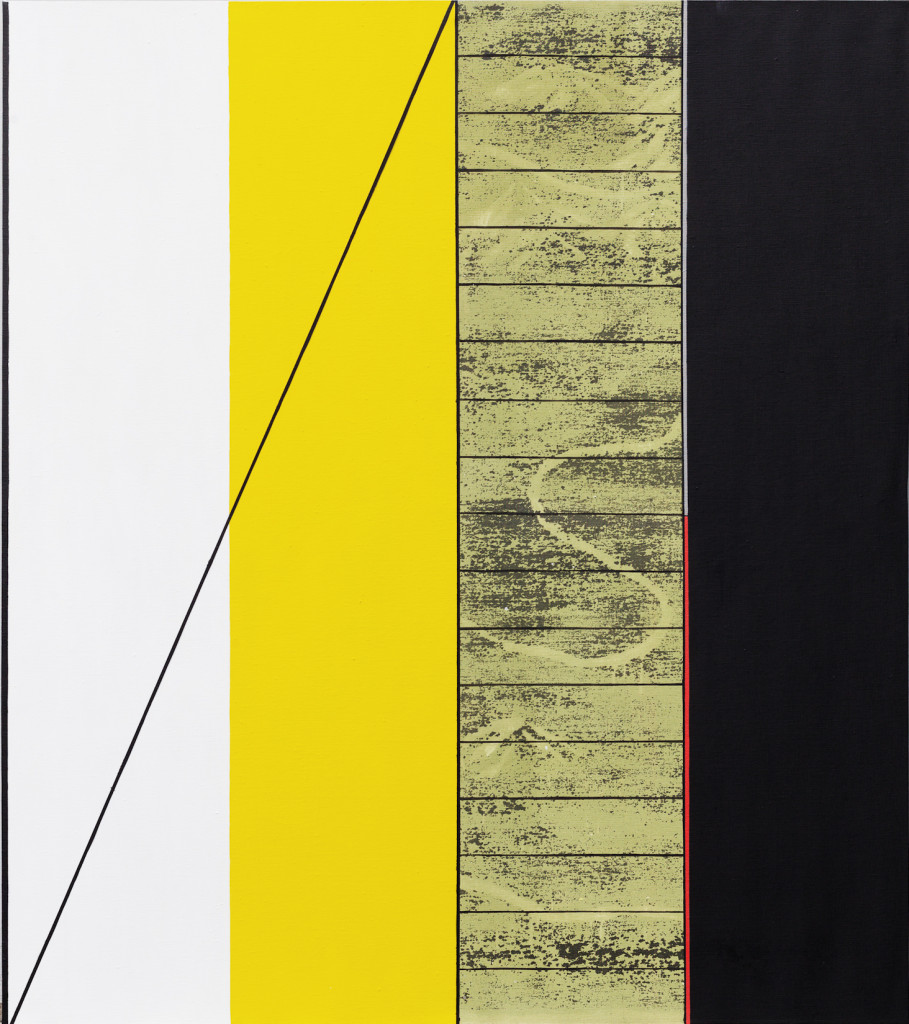 GEO-metry no. 1 / from the  Residential Sector series / 180 x 160 cm / mixed media, canvas / 2013