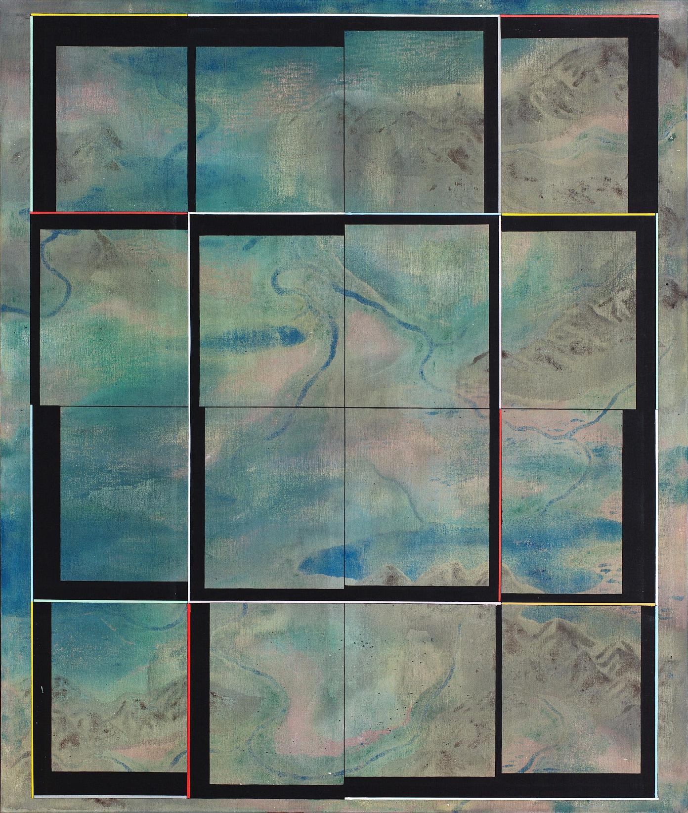 Terária č.30,(c.Obytný sektor),262x227cm,komb.tech.plátno,2012